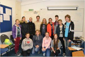 Vzdělávací zájezd žáků ZŠ TGM do Velké Británie 1